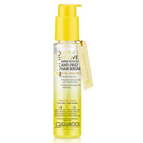 GIOVANNI - 2Chic Ultra-Revive Super Potion Anti-Frizz Hair Serum Pineapple & Ginger