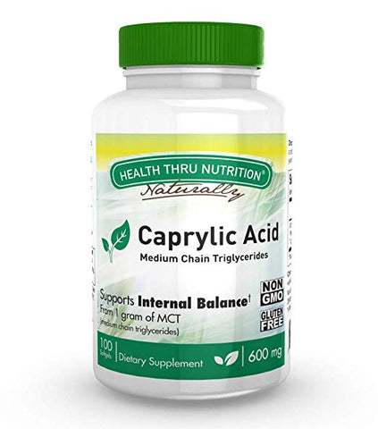 HEALTH THRU NUTRITION - Caprylic Acid 600mg