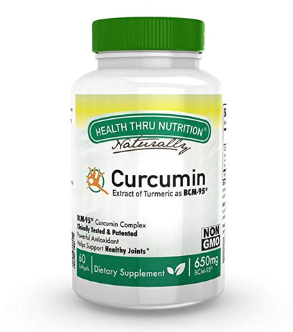 HEALTH THRU NUTRITION - BCM-95 Curcumin 650mg