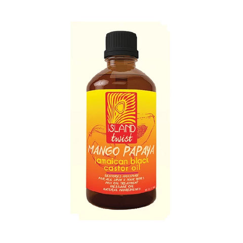 ISLAND TWIST - Jamaican Black Caster Oil Mango Papaya