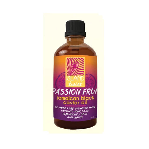ISLAND TWIST - Jamaican Black Caster Oil Passion Fruit