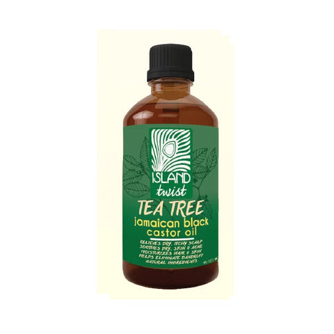 ISLAND TWIST - Jamaican Black Caster Oil Tea Tree