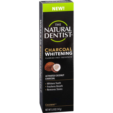 NATURAL DENTIST - Charcoal Whitening Toothpaste Fluoride Free