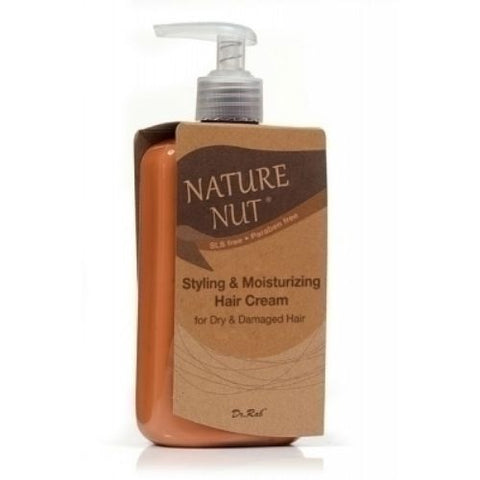NATURE NUT - Styling and Moisturizing Cream for Dry and Damaged Hair