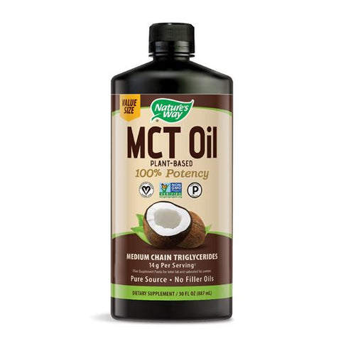 NATURE'S WAY - Organic MCT Coconut Oil
