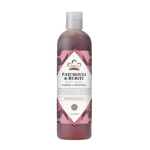 NUBIAN HERITAGE - Patchouli & Buriti Body Wash