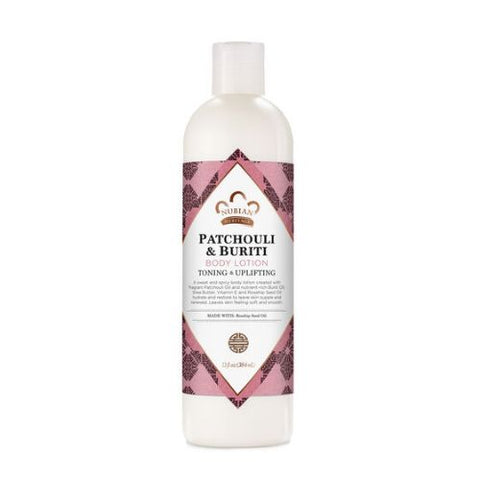 NUBIAN HERITAGE - Patchouli & Buriti Body Lotion