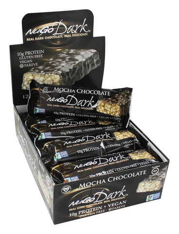 NUGO NUTRITION BAR - Dark Chocolate Bar Mocha Chocolate