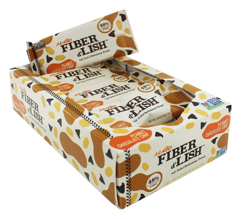 NUGO NUTRITION BAR - Fiber D'Lish Bar Peanut Chocolate Chip