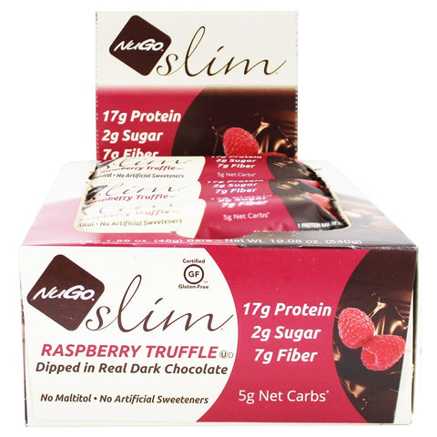 NUGO NUTRITION BAR - Slim Bars Raspberry Truffle