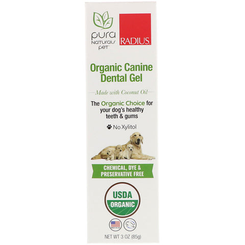 RADIUS - Organic Canine Dental Gel