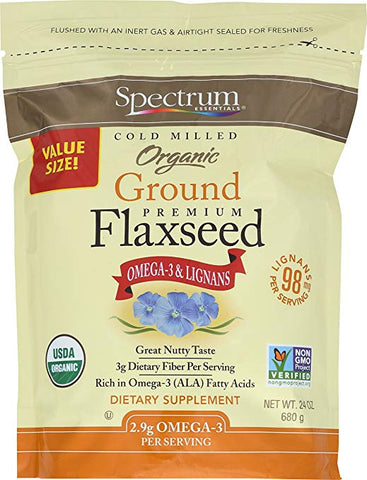 SPECTRUM ESSENTIALS - Organic Ground Flaxseed