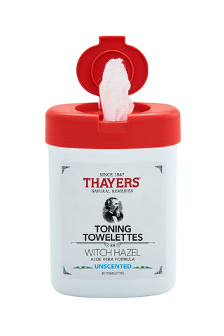 THAYERS - Unscented Toning Towelettes