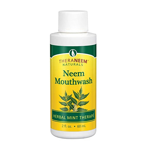THERANEEM NATURALS - Neem Mouthwash Herbal Mint