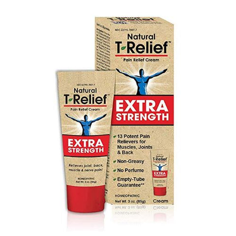 T-RELIEF - Pain Relief Cream Extra Strength