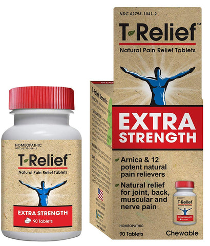 T-RELIEF - Extra Strength Pain Relief Tablets
