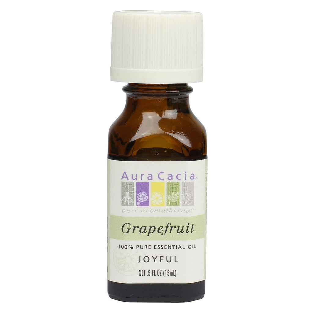 Aura Cacia - Essential Oil Grapefruit - 0.5 fl. oz. (15 ml)