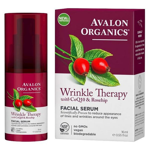 AVALON - Wrinkle Therapy with CoQ10 & Rosehip Facial Serum