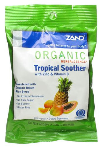 Zand Organic Tropical Soother Lozenges
