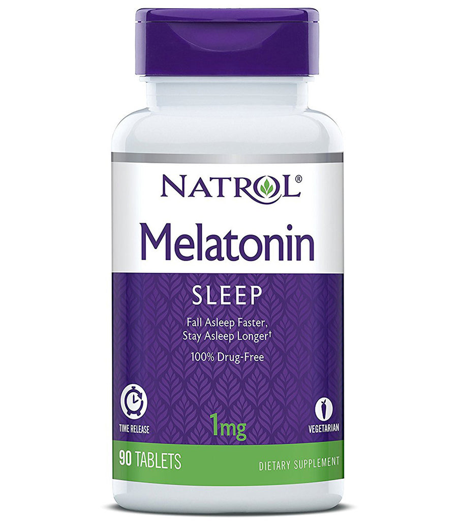 Natrol Melatonin Time Release 1mg