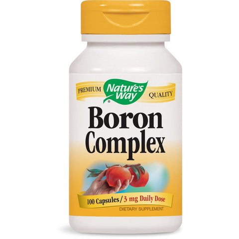 NATURES WAY - Boron Complex 3 mg Daily Dose