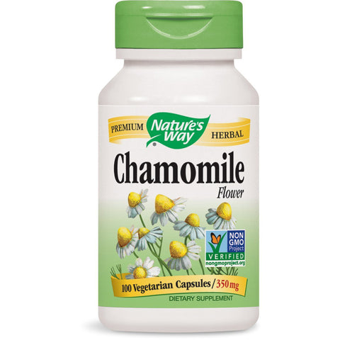 NATURES WAY - Chamomile Flowers 350 mg