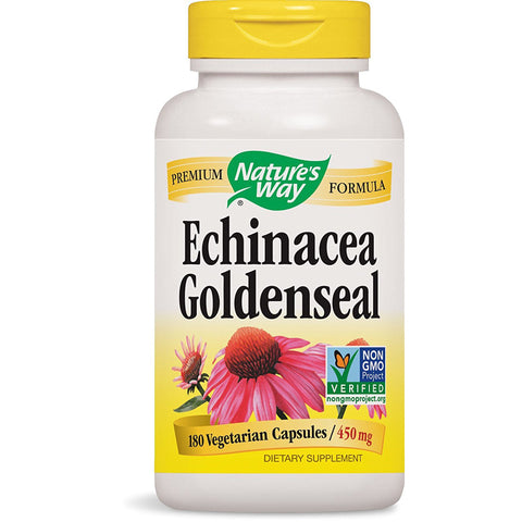 NATURES WAY - Echinacea Goldenseal 450 mg