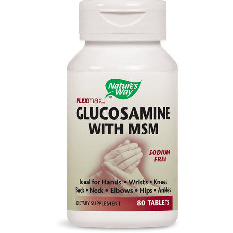 NATURES WAY - FlexMax Glucosamine with MSM