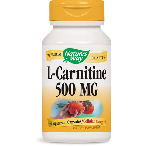 NATURES WAY - L-Carnitine 500 mg