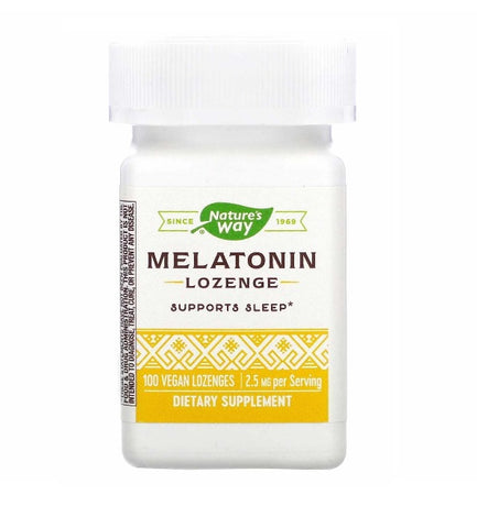 NATURES WAY - Melatonin Lozenge 2.5 mg Fruit Flavor