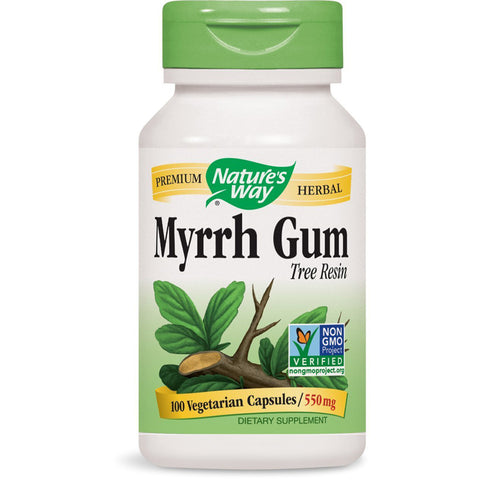 NATURES WAY - Myrrh Gum 550 mg