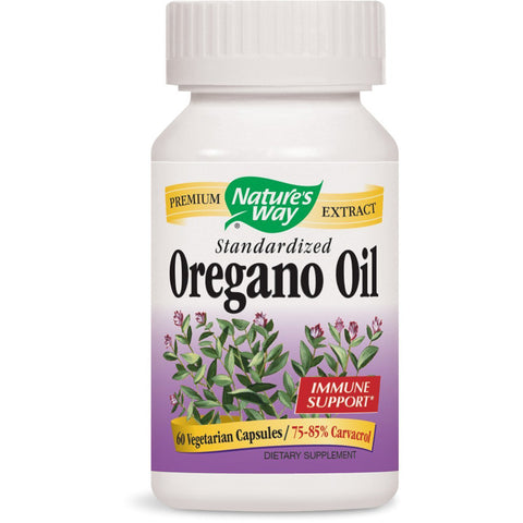 NATURES WAY - Oregano Oil Standardized
