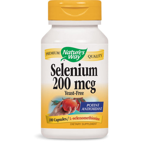 NATURES WAY - Selenium 200 mcg Yeast-free