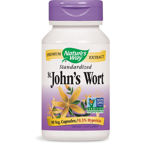 NATURES WAY - St. Johns Wort Standardized