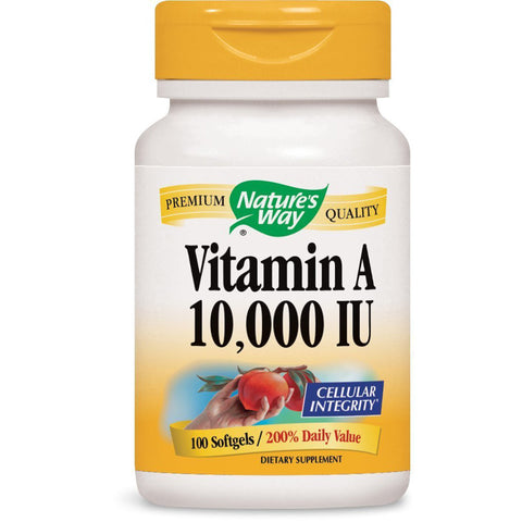 NATURES WAY - Vitamin A 10,000 IU