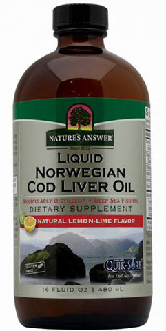 Natures Answer Liquid Norwegian Cod Liver Oil