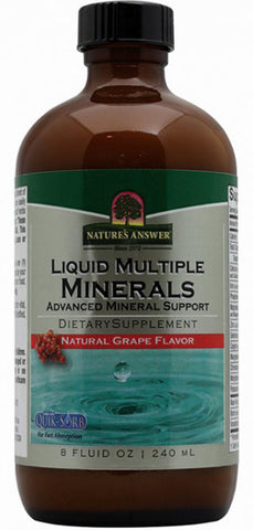 Natures Answer Platinum Liquid Multiple Minerals