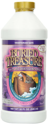 Buried Treasure Colloidal Minerals Concord Grape