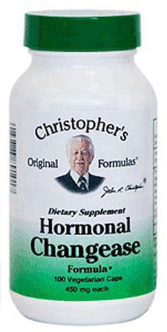 Christophers Original Formulas Hormonal Changease Capsule