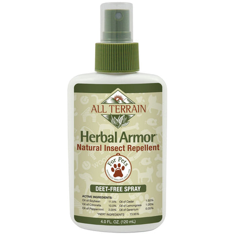 ALL TERRAIN - Herbal Armor Insect Repellent Spray for Pets