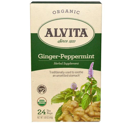 ALVITA - Ginger-Peppermint Tea