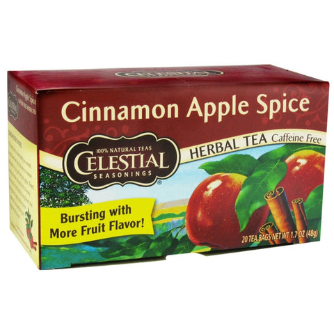 Celestial Seasonings Herbal Tea Cinnamon Apple Spice