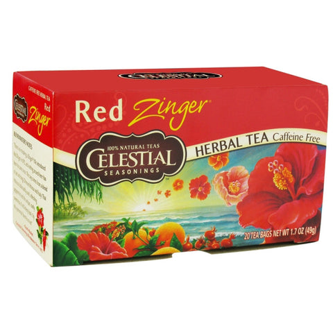 Celestial Seasonings Herbal Tea Red Zinger