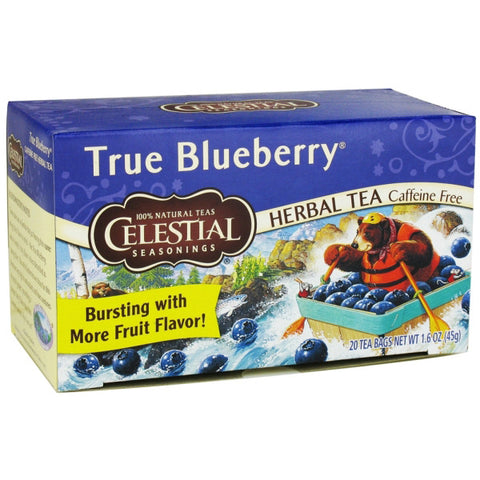 Celestial Seasonings Herbal Tea True Blueberry