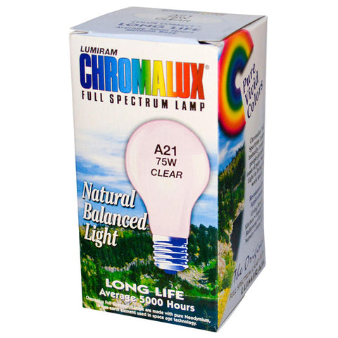 CHROMALUX - Standard Clear 75W Light Bulb
