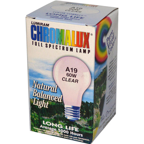 CHROMALUX - Standard Clear 60W Light Bulb