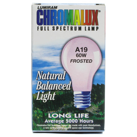 CHROMALUX - Standard Frosted 60W Light Bulb