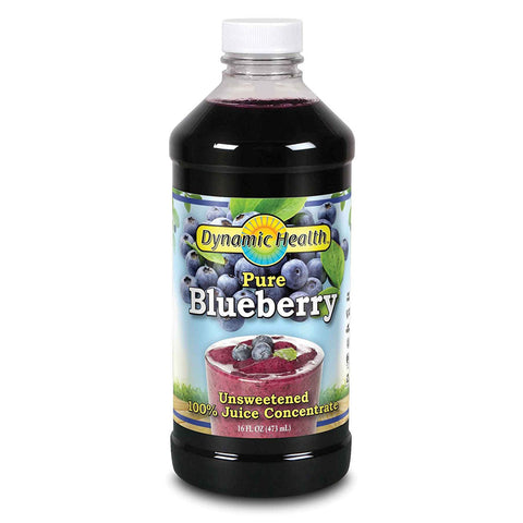 DYNAMIC HEALTH - Pure Blueberry 100% Juice Concentrate, Unsweetened