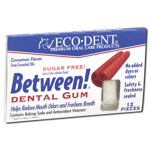 ECODENT - Between! Dental Gum Cinnamon