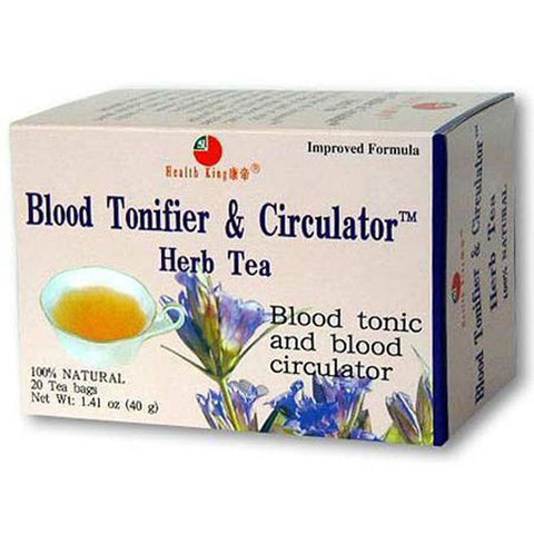 HEALTH KING TEA - Blood Tonifier Circulator Herb Tea